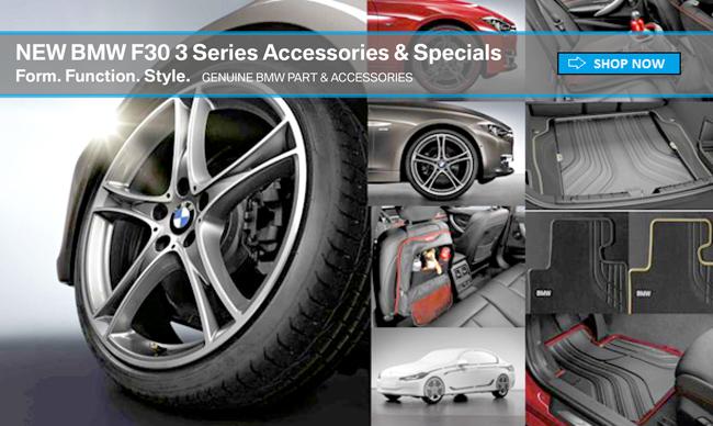 tischer bmw new f30 3 series accessories specials catalog. Black Bedroom Furniture Sets. Home Design Ideas