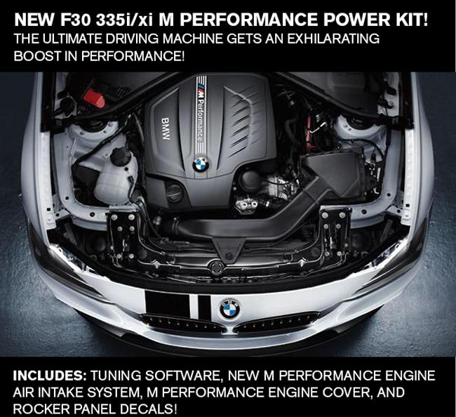 NEW F30 335i/xi M Performance Power Kit