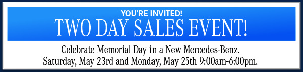 Two Day Sales Event!