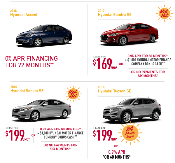 Superb Great Offers On New Cars! *With Approved Credit Through Hyundai Motor  Finance.
