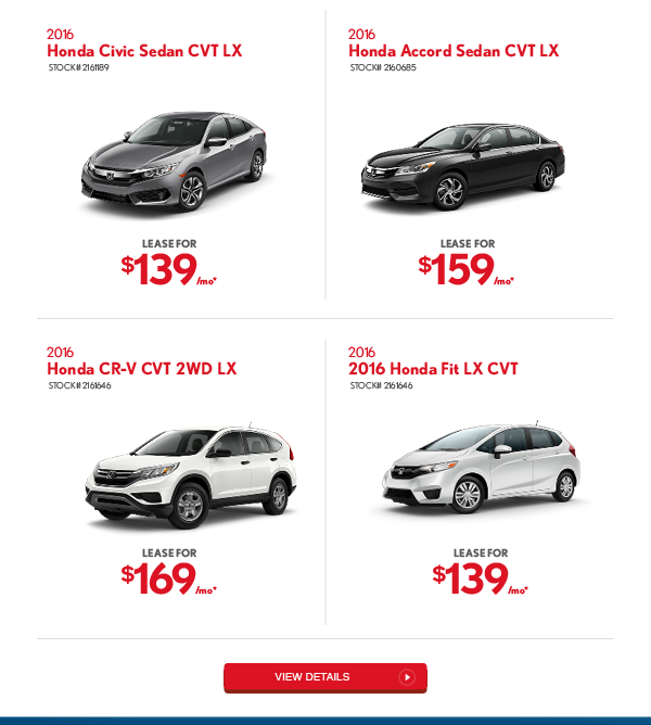Great offers on new cars!